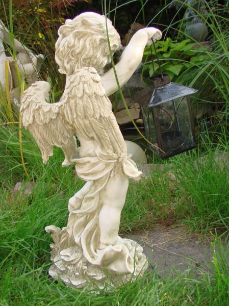 gro er engel aniell mit laterne figur skulptur neu. Black Bedroom Furniture Sets. Home Design Ideas