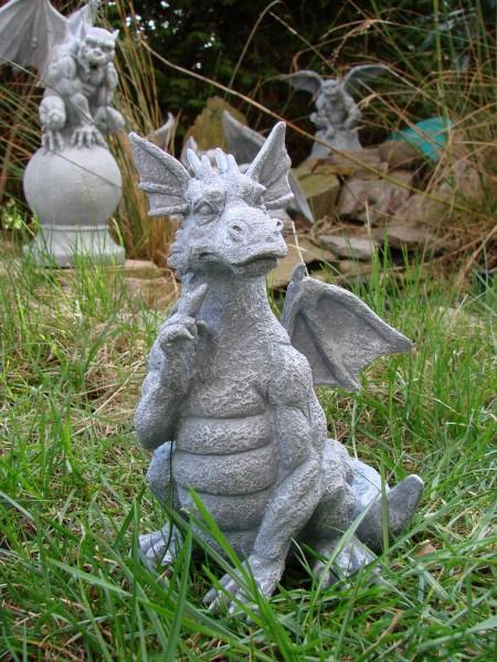 Kleiner garten drache draco frostresistent figur neu ebay - Kleiner garten ...