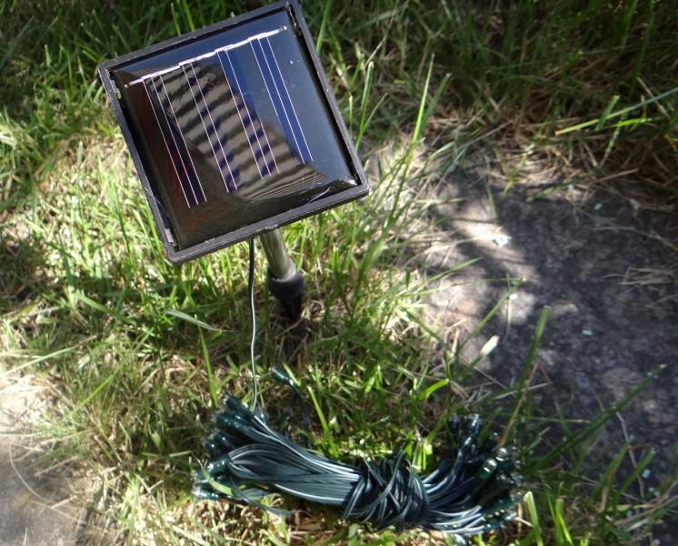 led solar lichterkette 50 lichter solarlichterkette. Black Bedroom Furniture Sets. Home Design Ideas