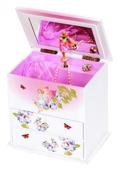 schmuckschrank elfe katie mit spieluhr f r kinder kaufen bei. Black Bedroom Furniture Sets. Home Design Ideas