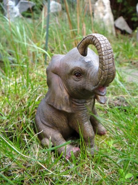 elefant jumbo mini 13 cm afrika figur skulptur tierfigur. Black Bedroom Furniture Sets. Home Design Ideas