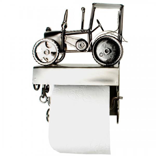 toilettenpapierhalter traktor aus metall zum aufh ngen wc halter kaufen bei. Black Bedroom Furniture Sets. Home Design Ideas