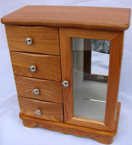 Schmuckschrank Taria modern Holz Schmuckkästchen NEU | eBay